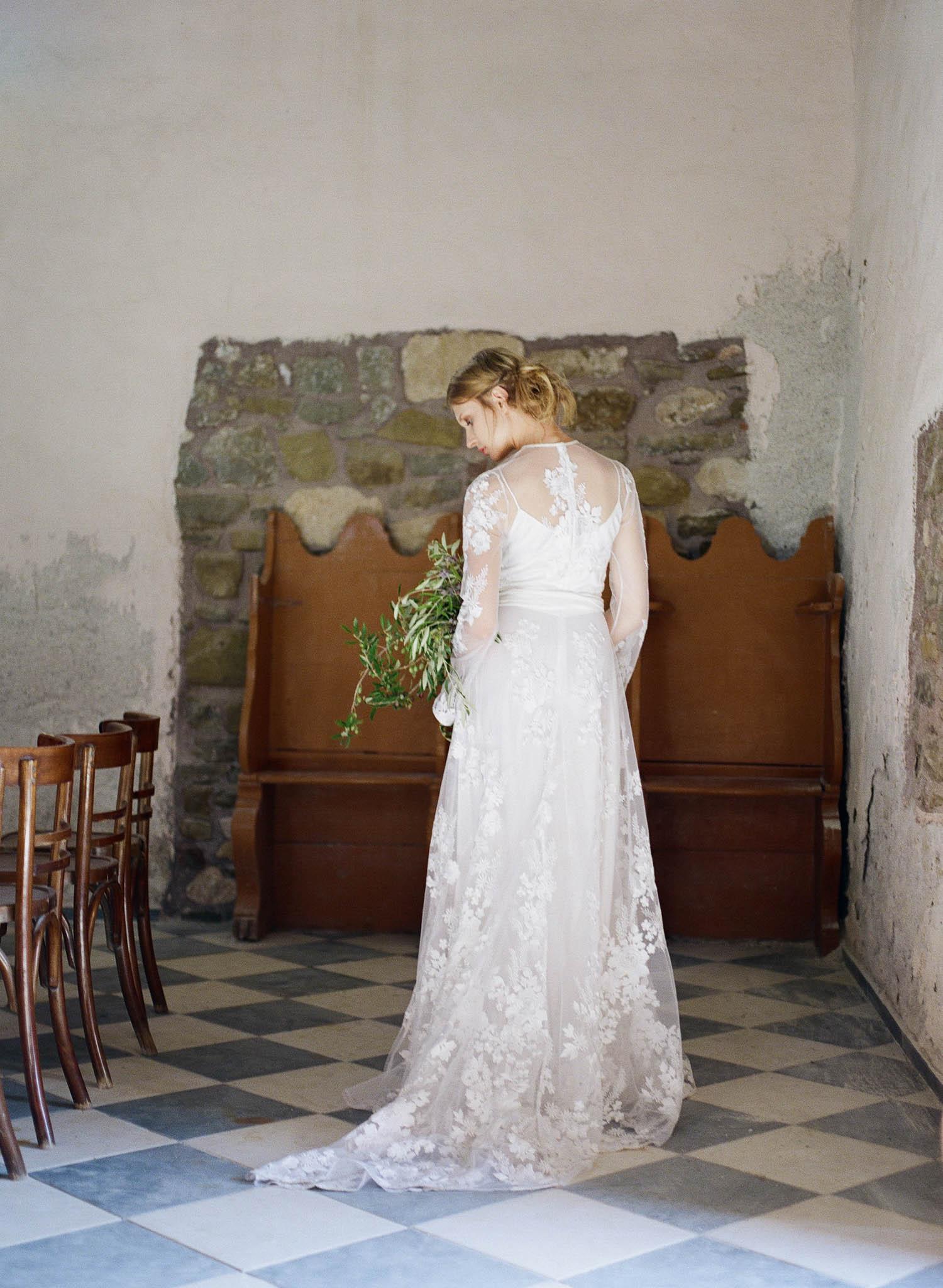Ancient Greek Church Bridal Inspiration – Allie Jennings Photography ...