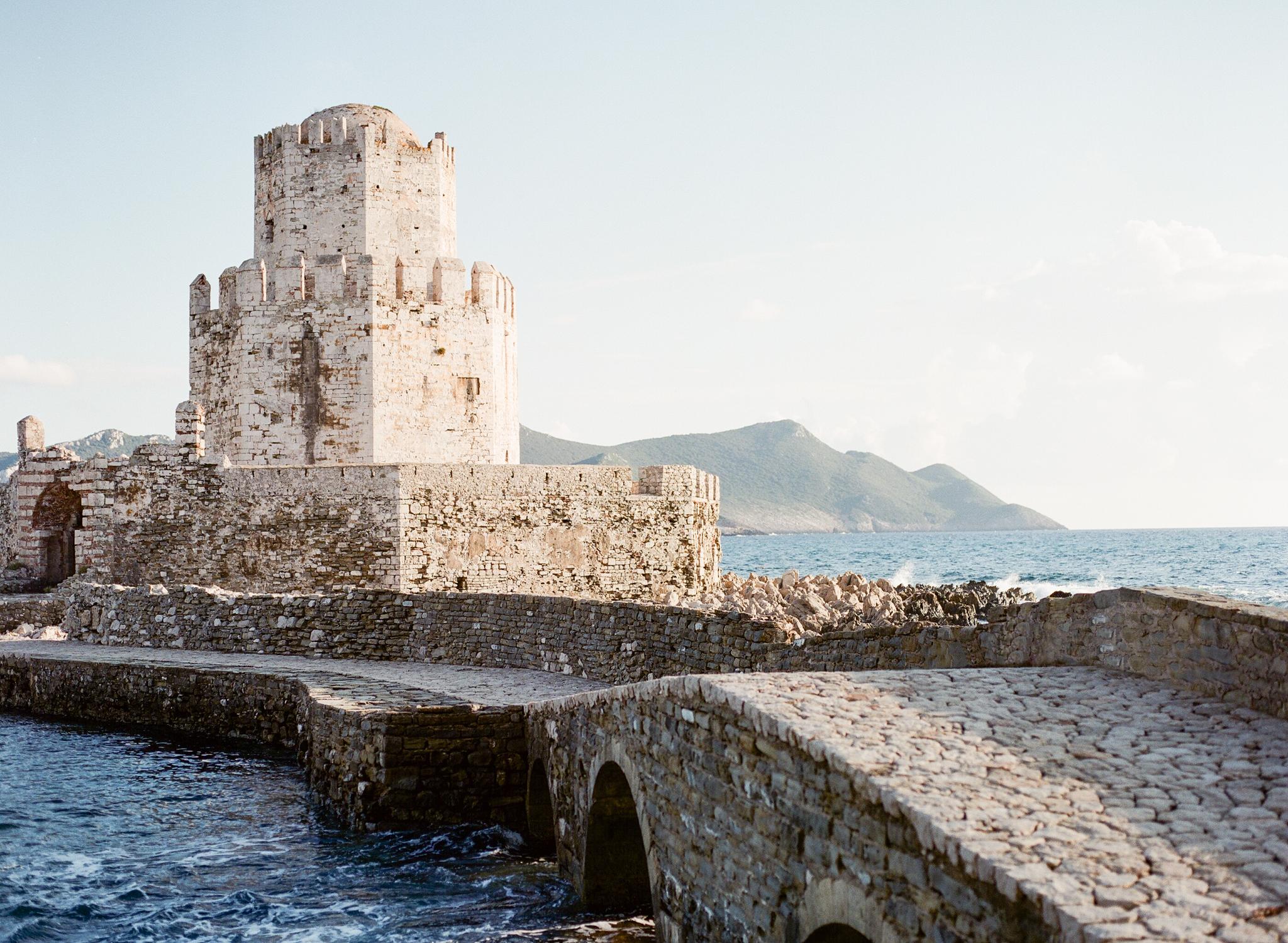 Seaside Greek Castle Wedding Allie Jennings Photography