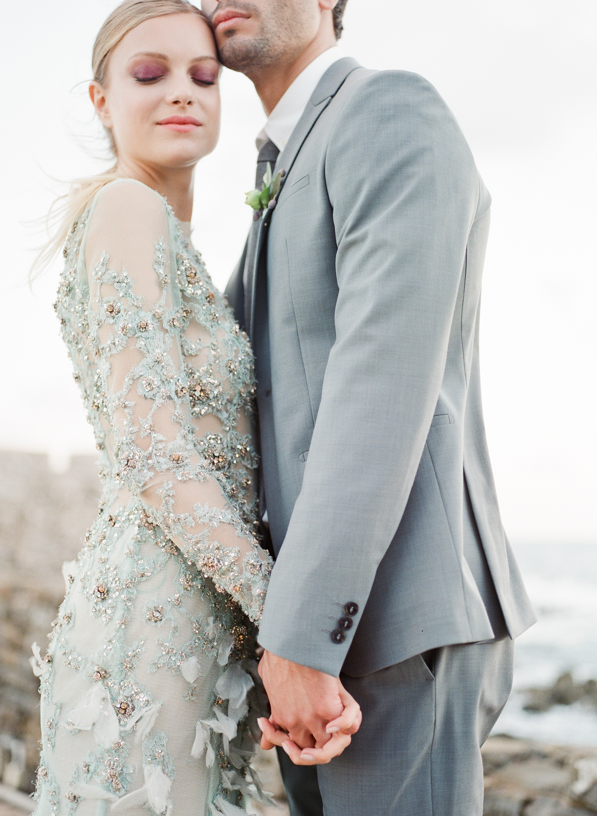 Seaside Greek Castle Wedding – Allie Jennings Photography – Fine Art ...